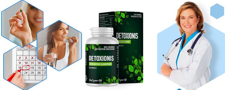 Die Effekte sind nach dem ersten Gebrauch sichtbar Detoxionis.