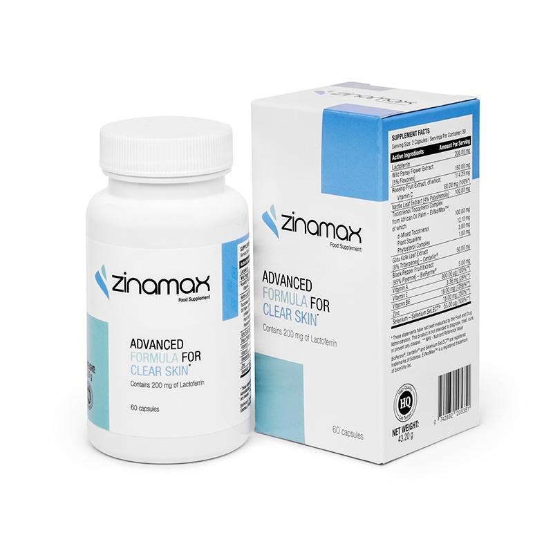 Auswirkungen der Verwendung der Ergänzung Zinamax